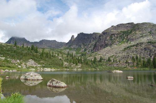 Озеро Радужное. Ергаки