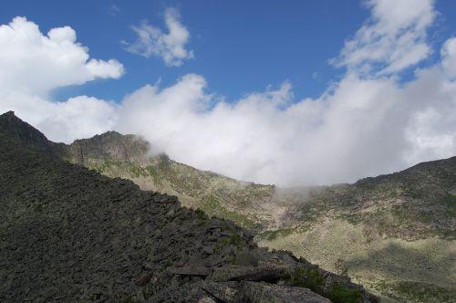 Вид с перевала НКТ. Ергаки