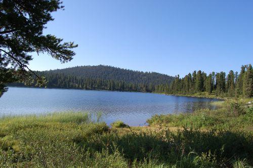 Озеро Светлое. Ергаки